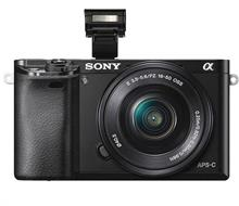 SONY Alpha A6000 Mirrorless Digital Camera With 16-50mm OSS Lens